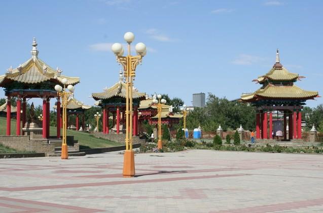 элиста буддийский комплекс