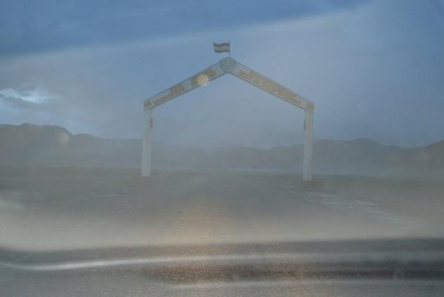 песчаная буря в муграбе памир