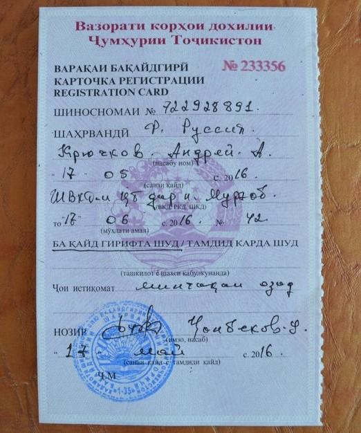 регистрация в муграбе
