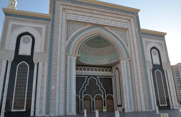 мечеть в астане красивая
