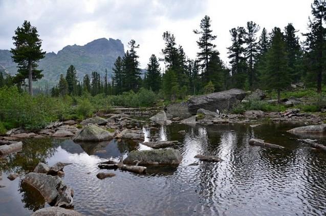 красивое озеро художников