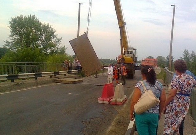 ремонт моста на трассе Чебоксары – Сурское