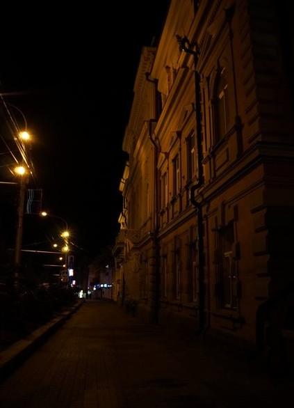 ставрополь ночью