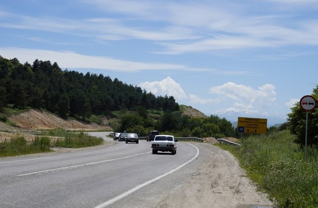 дорога в карачаево-черкесии