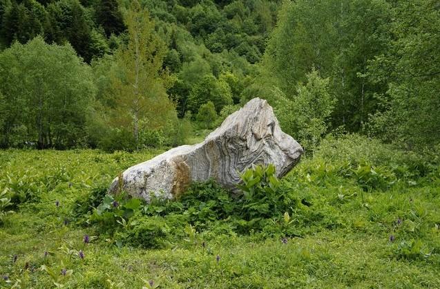 каменюга в горах