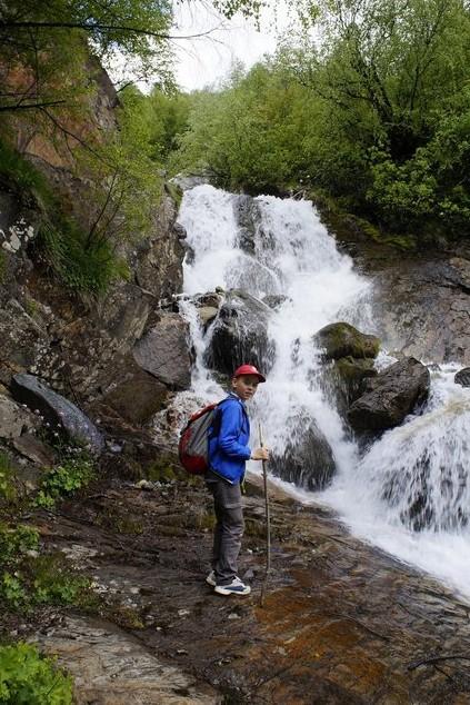 нижняя ступень Чучхурского водопада