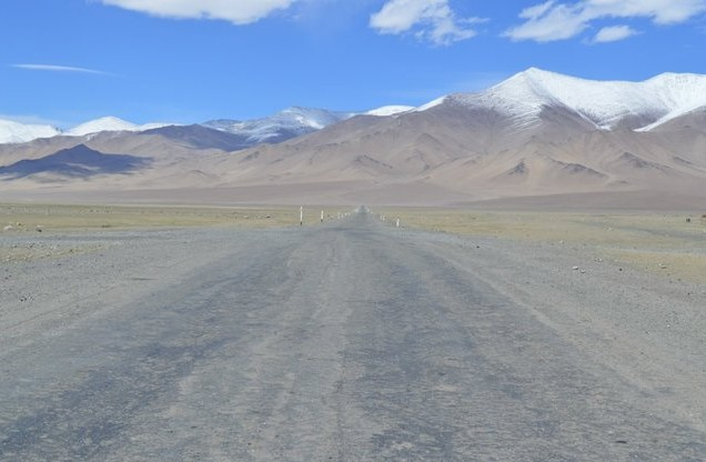 дорога в Карау-Куль памир