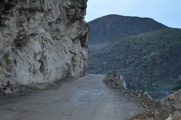 горная дорога в хорог