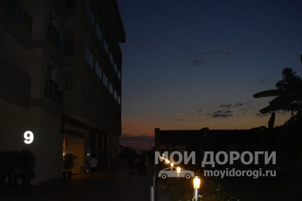 ночь в Турции