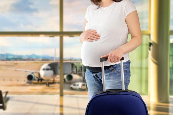 Путешествия и полет во время беременности
