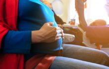 Путешествие и полет с детьми во время беременности