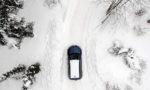 путешествие на машине зимой