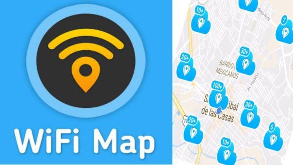 Приложение WiFi map