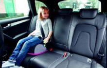 выбрать бустер для детей в машину