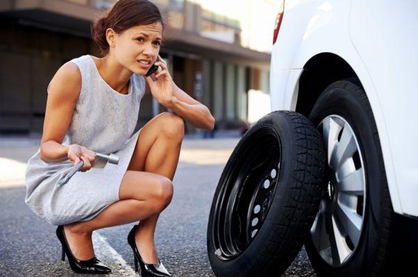 Замена спущенных шин - чем это отличается от замены стандартных шин