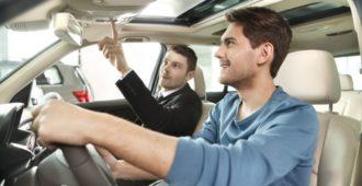 Тест-драйв перед покупкой машины