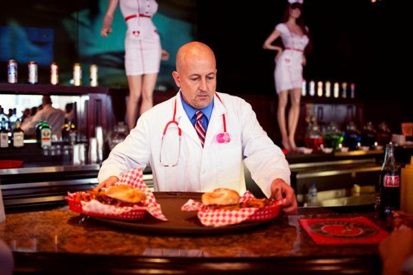 """Heart attack Grill"" in Las Vegas"