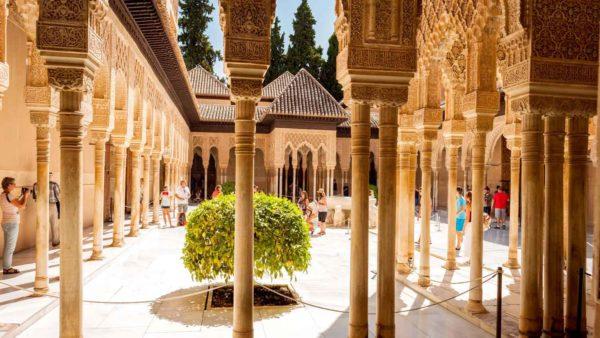 дворцово-парковый комплекс Альгамбру