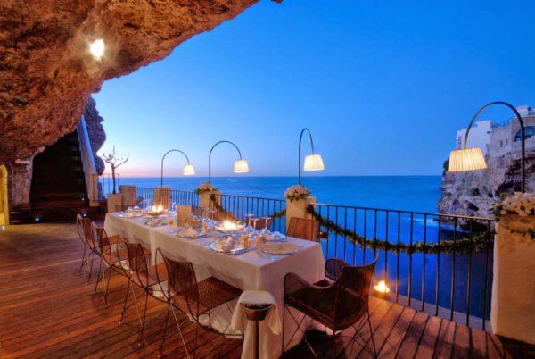 Ресторан «Грот Палаццезе», Италия