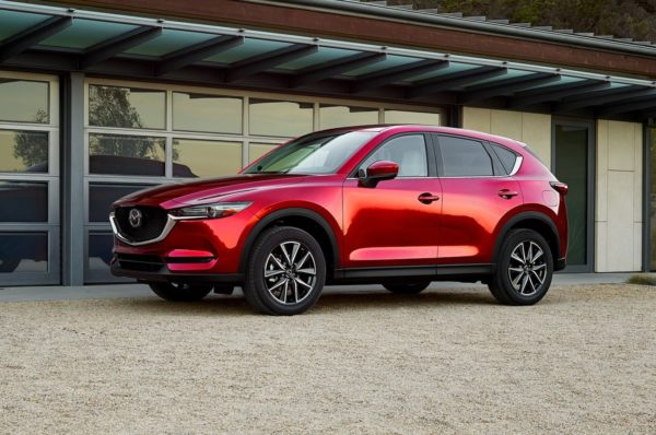 Новый кузов Мазда CX-5 2019 года