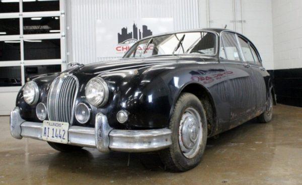 Jaguar Mk II 1960 restavracija
