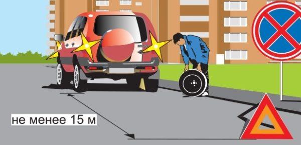 shema zameny kolesa