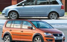 Opel-Zafira и VW-Touran