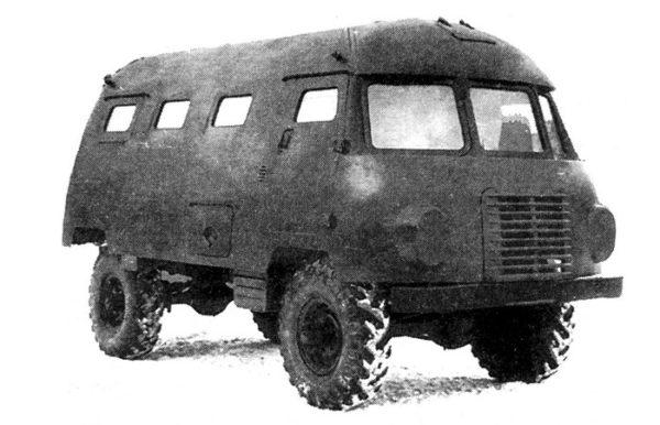 Авто на случай ядерного постапокалипсиса, созданное в СССР
