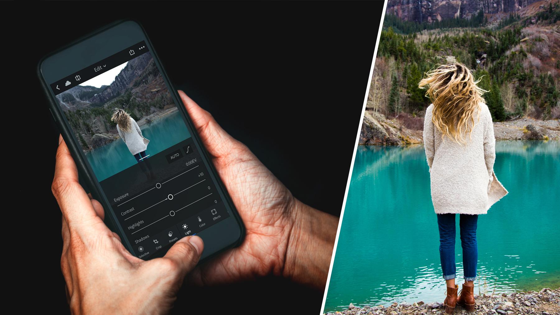 предлагает приложения на телефон для обработки фото можно многими