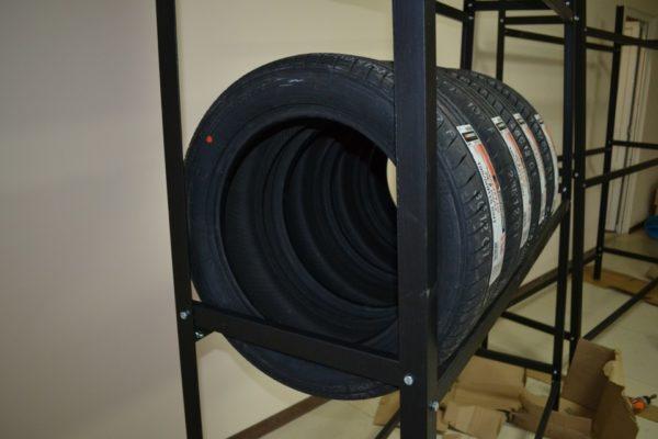 Как правильно хранить резину без дисков в гараже