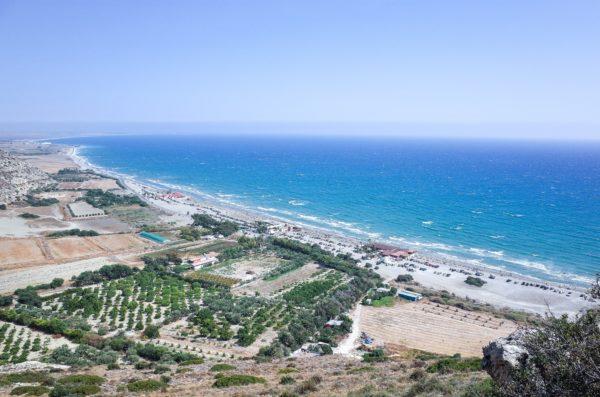 Береговая линия Кипра
