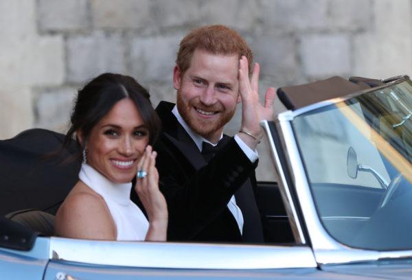 принц Гарри с женой