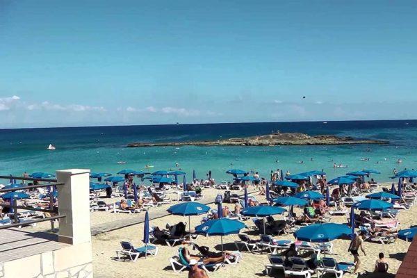 пляж Кипра