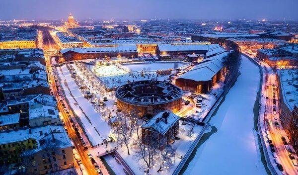Прогноз погоды в Санкт-Петербурге на зиму 2019-2020 года