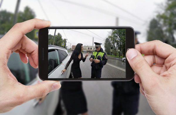 Имеем ли право по закону снимать инспектора ГИБДД на видео