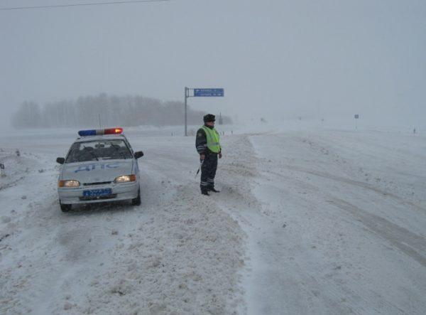 Что делать, если разметку на дороге занесло снегом