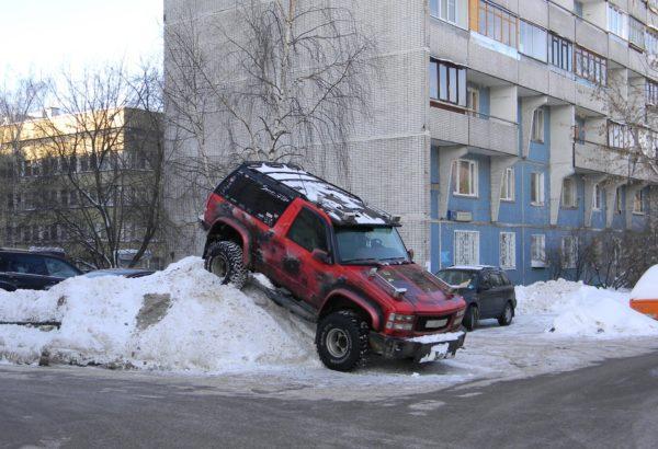 ТОП-7 ошибок водителей зимой