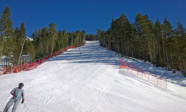 Активный отдых на новогодние праздники: лучшие лыжные трассы России