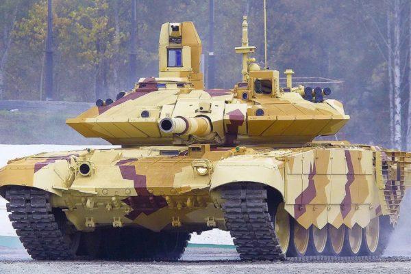 Российский танк Т-90М против израильского Merkava Mk.4