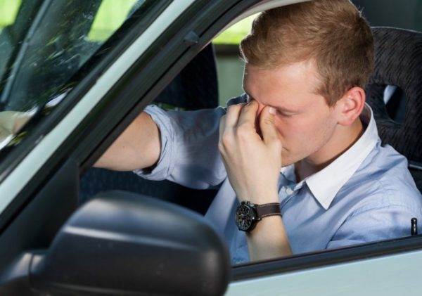 Ошибки водителя опасные для его здоровья