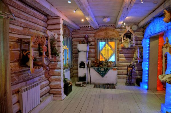 фото дома Снегурочки внутри
