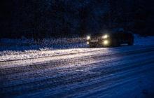 Заглохли ночью в дороге зимой