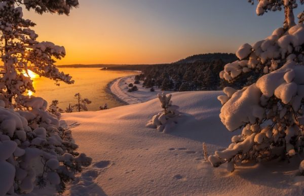 Зимний отдых в Карелии: достопримечательности и направления