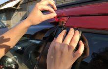 Установка дефлекторов окон на авто своими руками: последовательность работ, опасные участки и варианты крепления