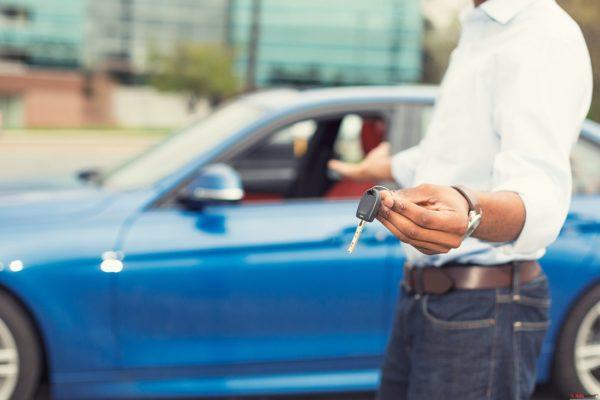 ключи от нового авто