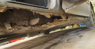 Как самостоятельно отремонтировать пороги автомобиля