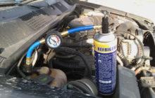 Как самостоятельно поменять жидкость в кондиционере автомобиля
