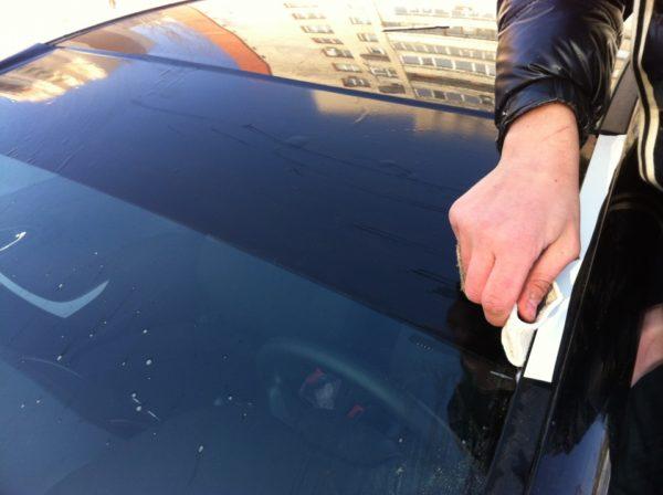 Делаем тонировку автомобиля в домашних условиях своими руками