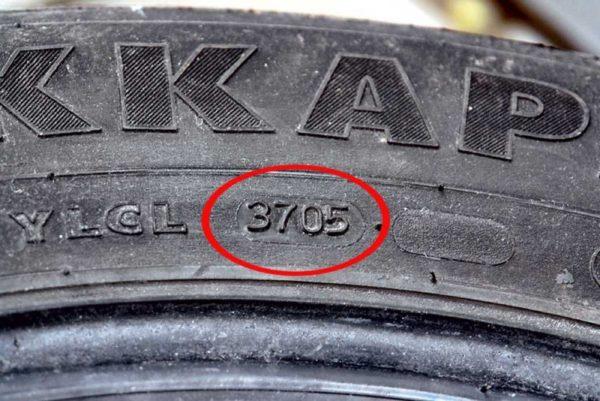 Где прописывается дата выпуска автомобильных шин и почему ее важно знать