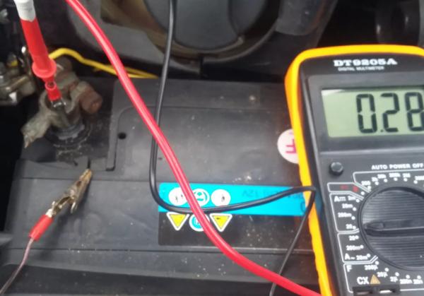 Проверка утечки тока на автомобиле: способы замера мультиметром и допустимые нормы потери